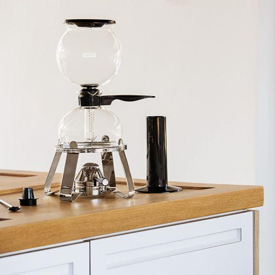 PEBO® Vacuum Coffee Maker with Burner and Accessories