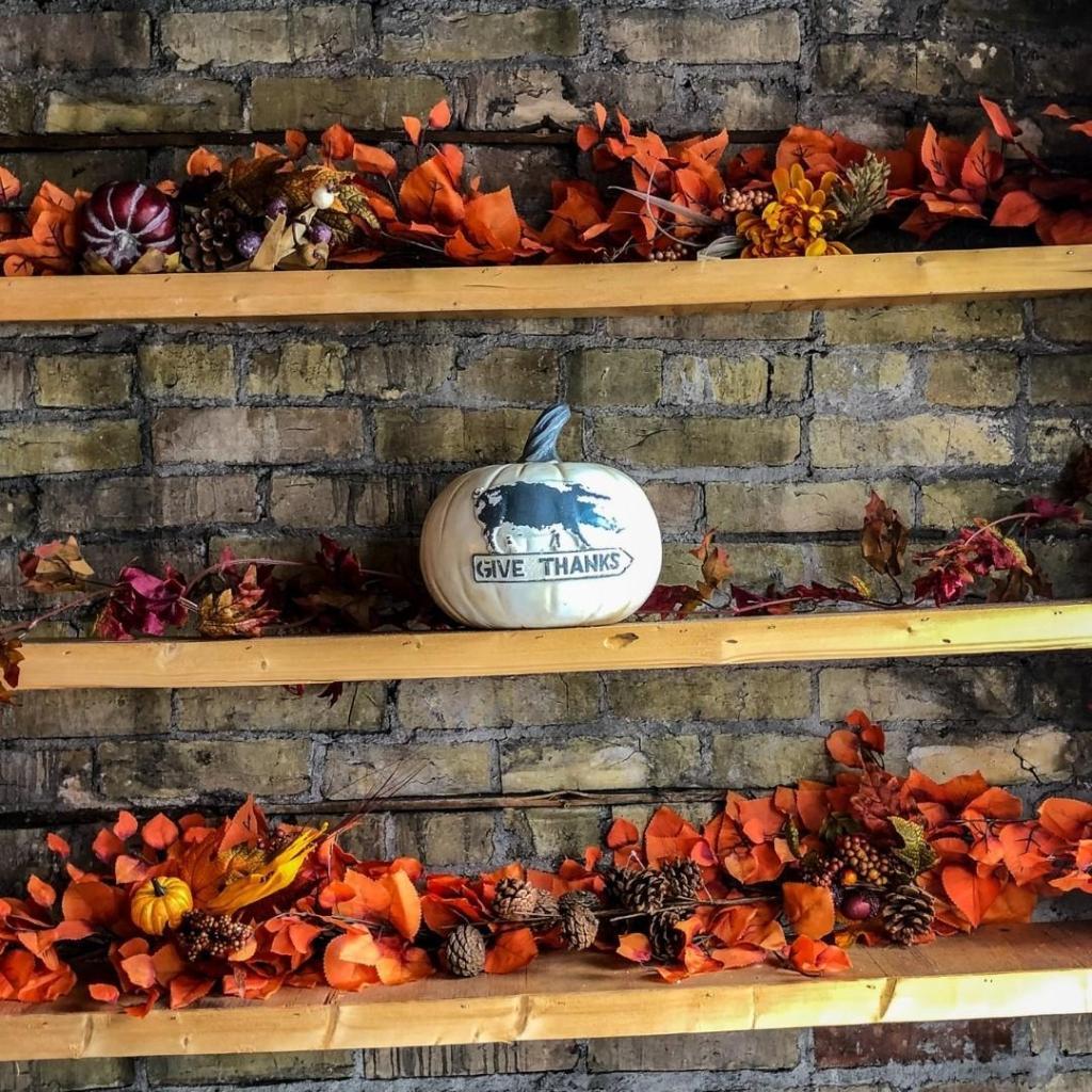 Fall Shelf Diplay