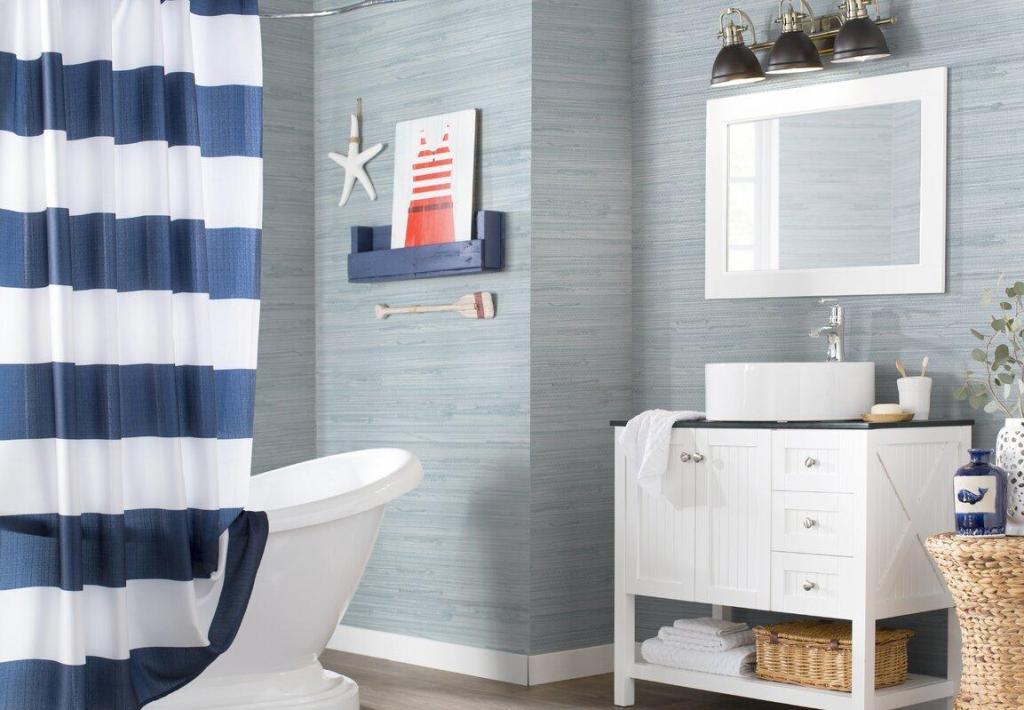 Nautical Decor Bathroom