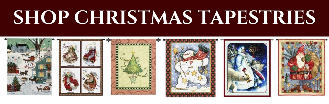 SHOP CHRISTMAS TAPESTRIES