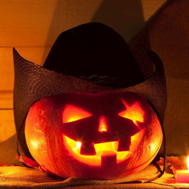 Bad Hombre Carved Pumpkin