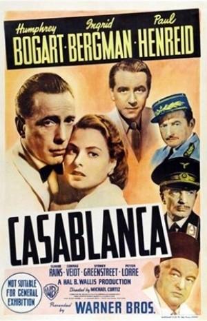 Classic Movie Poster - Casablanca (1942)