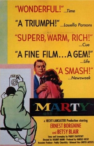 Classic Movie Poster - Marty (1955)