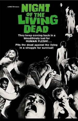 Classic Movie Poster - Night of the Living Dead