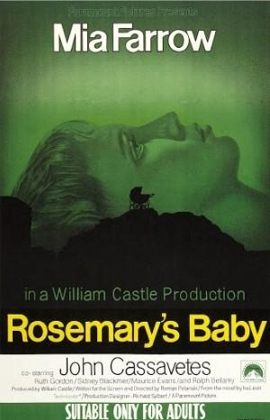 Classic Movie Poster - Rosemary's Baby (1968)