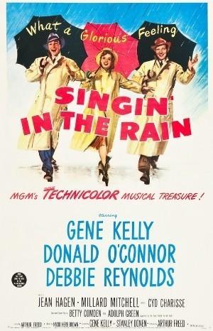 Classic Movie Poster - Singin' in the Rain (1952)