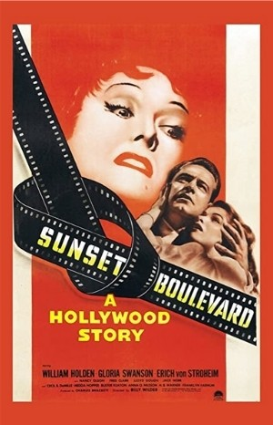 Classic Movie Poster - Sunset Boulevard (1950)