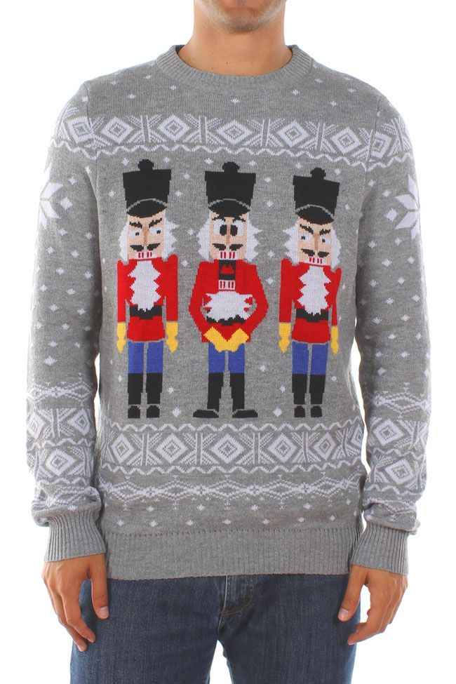 Men's Nutcracker Ugly Christmas Sweater