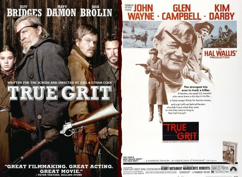 True Grit - 2010 Remake vs 1969 Original