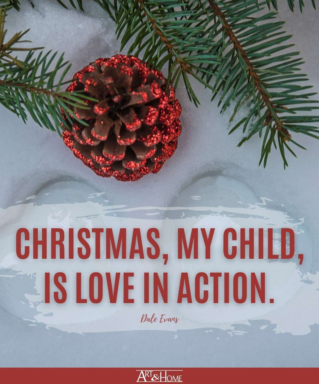 Christmas is Love Quote