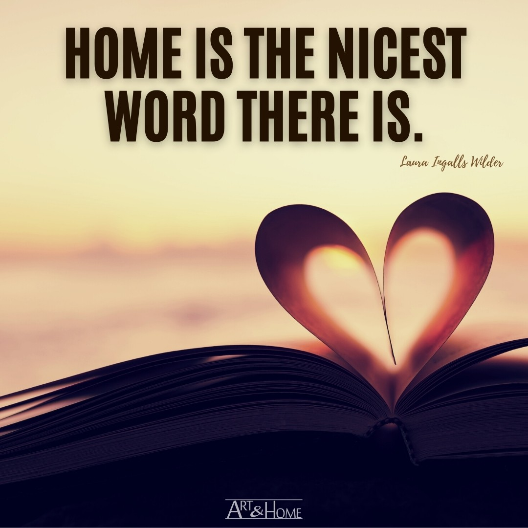 Home is the nicest word there is. Quote Meme