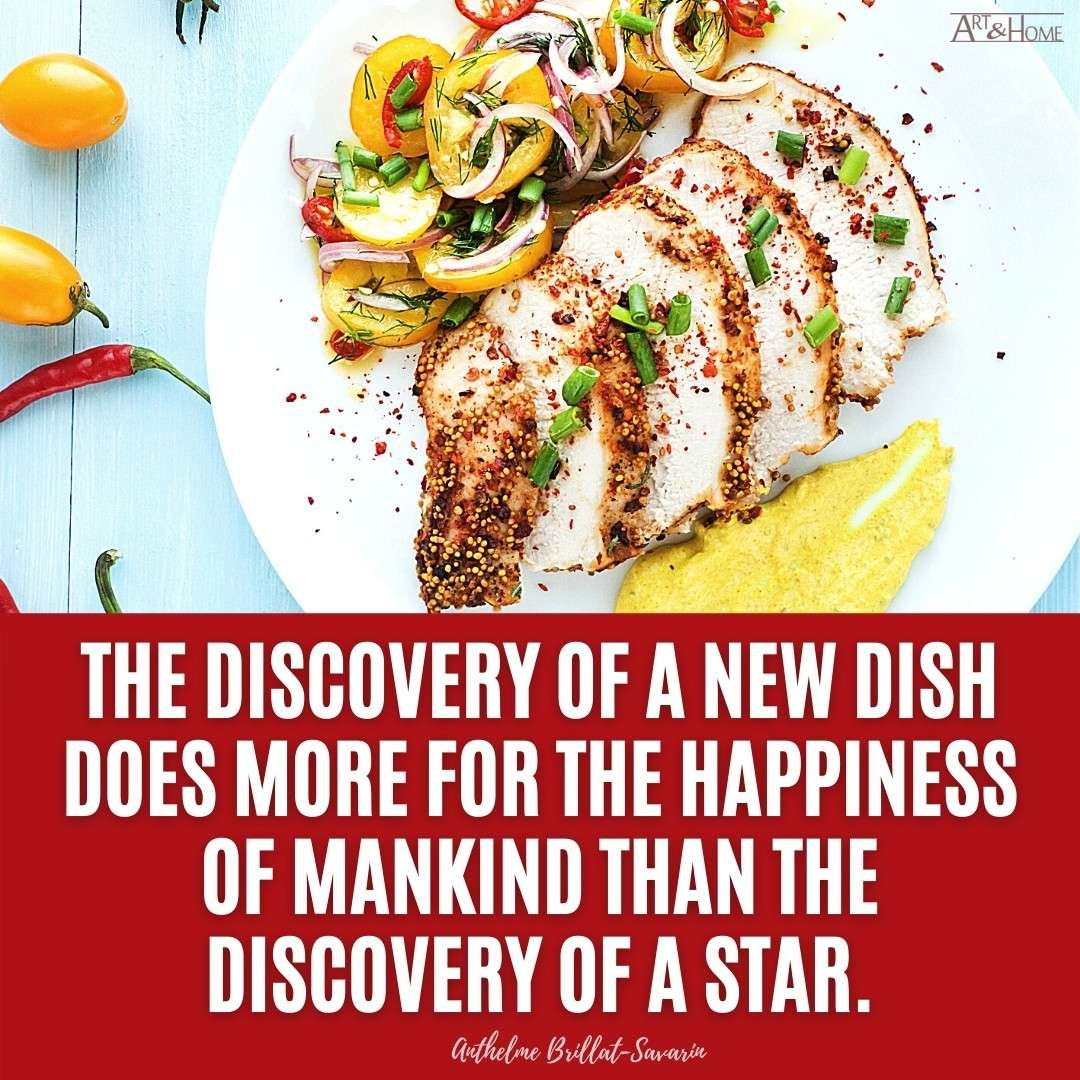 New Food Dish Quote