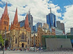 around federation square melbourne 6