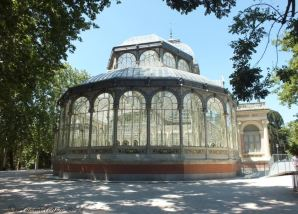 Madrid Retiro Park Cristal Palace 2