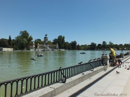 Madrid Retiro Park Lake 1