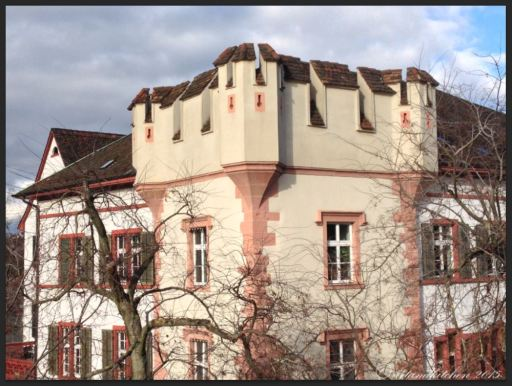 Basel Walking Tour January 2015 _ Hause from Wettsteinbrücke