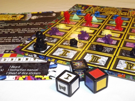 And here's the contents of the game. It looks fun, doesn't it?