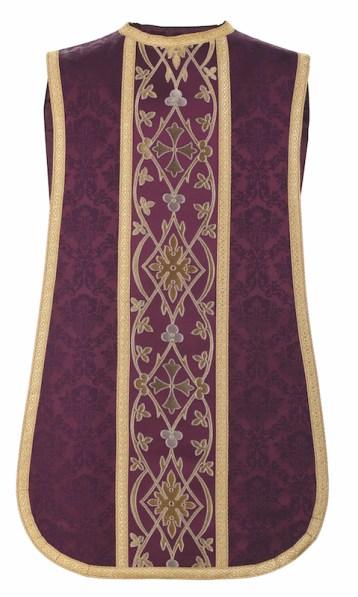 Fiddleback-style chasuble by Granda Liturgical Arts.