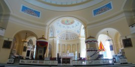 Baltimore Basilica. Sanctuary panorama. Photo kindly provided by Colter Sikora of Roamin' Catholic Churches.