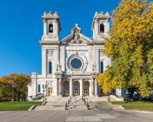 Basilica of St. Mary (Minneapolis, MN). Façade. Photo provided by parish.