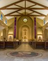 St. Paul Church (Nampa, ID). Nave view. Photo provided by parish.