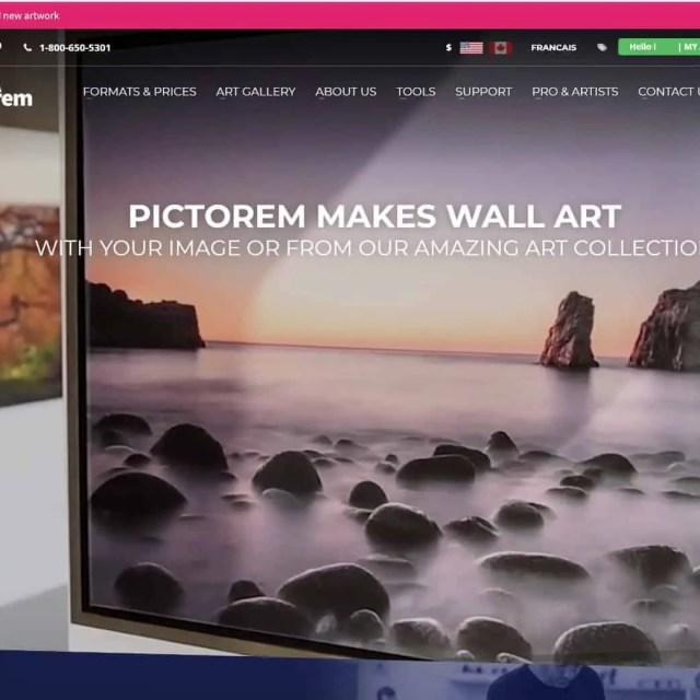 Pictorem Website