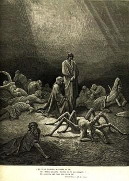 Illustration for Dante's Purgatorio of the Divine Comedy