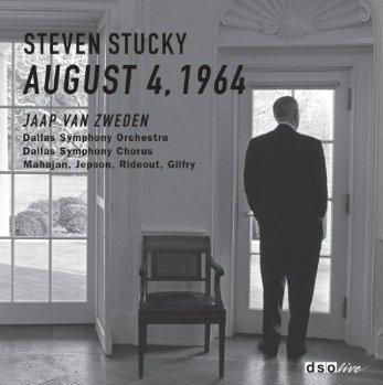Cover for the CD of the Dallas Symphony's performance of Steven Stucky's