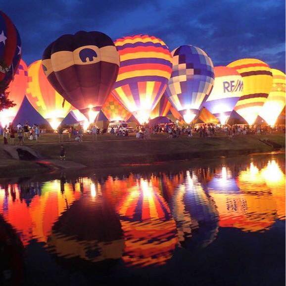 Photo: Highland Village Lion's Club Balloon Festival