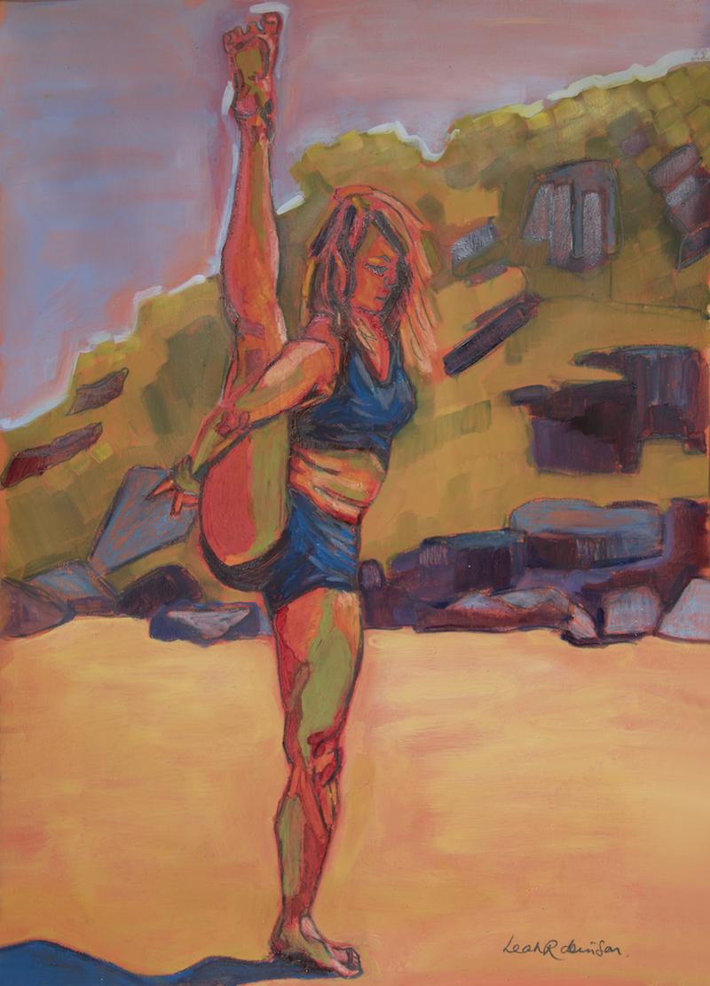 Yoga Art Leah Robinson Art & Soul