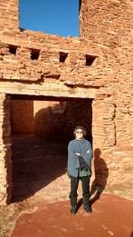 Souheir at Quarai Ruins