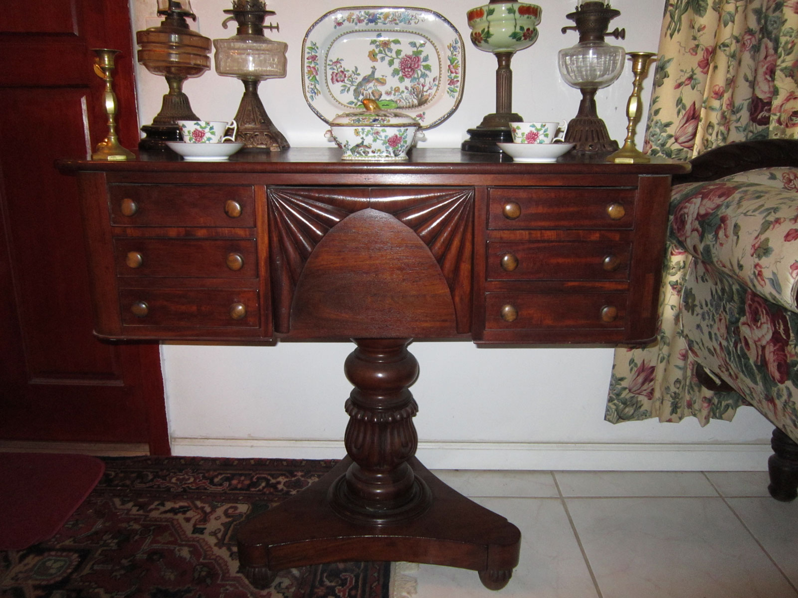 super popular 90e7d 9e2ce Early 19th C. British Colonial Dressing Table from Jamaica, West Indies