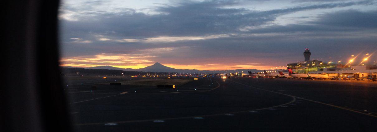 Beautiful Portland Departure