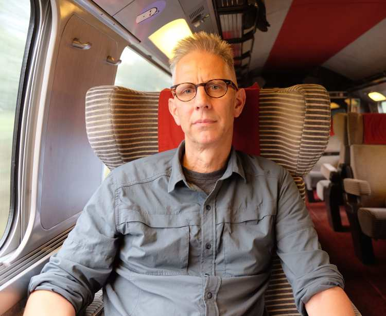 Jeff does the TGV