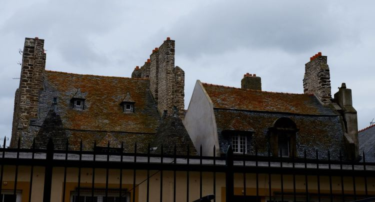 Roof tops of St Malo