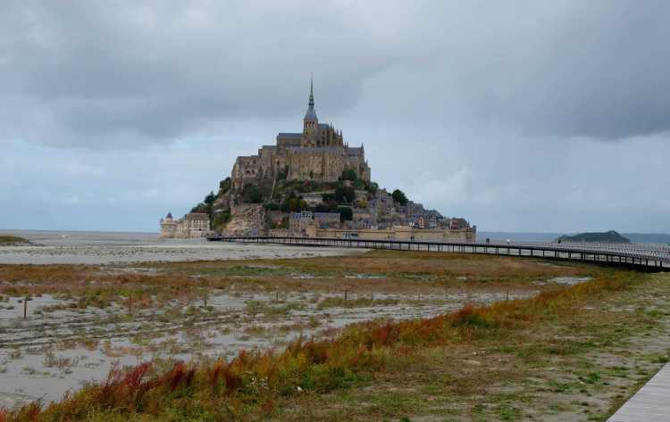 Route to Mont St Michel