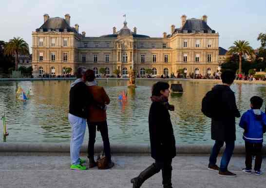 Romance abounds in Paris