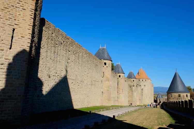 La Cite of Carcassonne