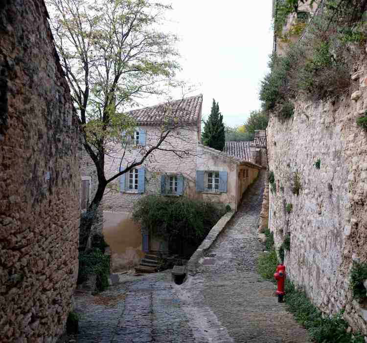 Streets of Gordes