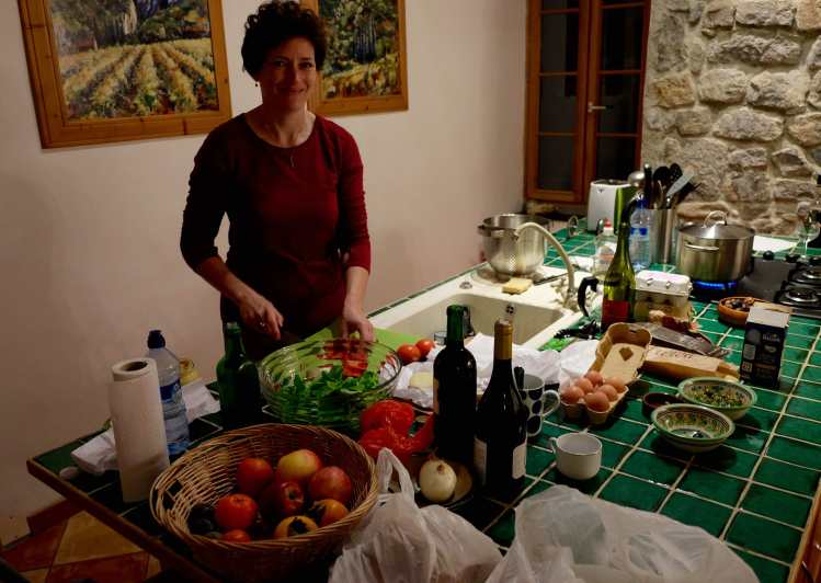 Cooking in Lagrasse