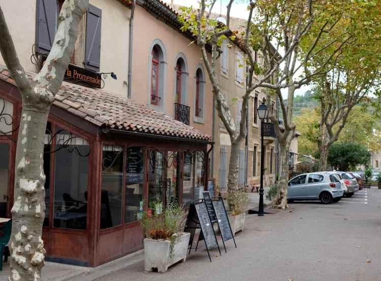 Rue de la Promenade, Lagrasse