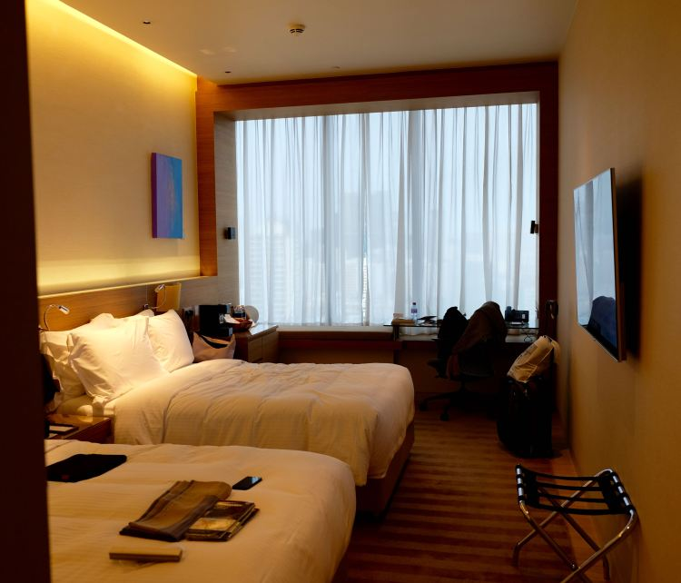 Upgraded room in Singapore
