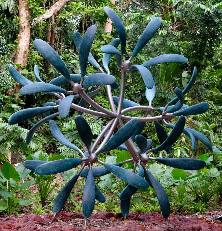 Loved this sculpture in the botanic gardens