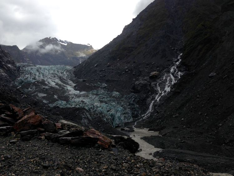 Fox Glacier and some mountains