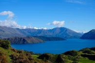 lake wanaka from mt roy