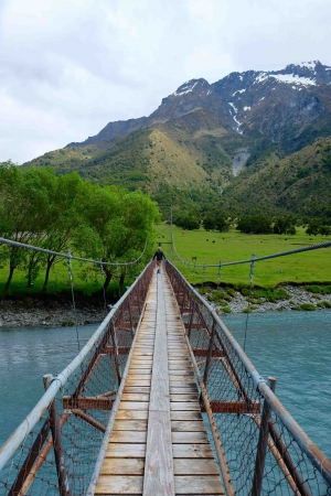 Matukituki valley bridge