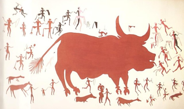 North West Bull Painting