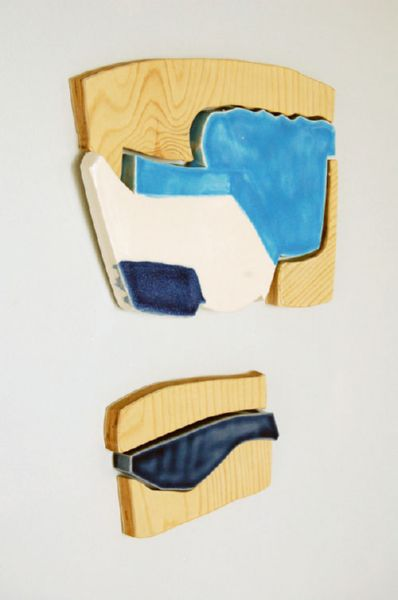"ceramic, plywood, magnets, 12"" x 10"", 2010"