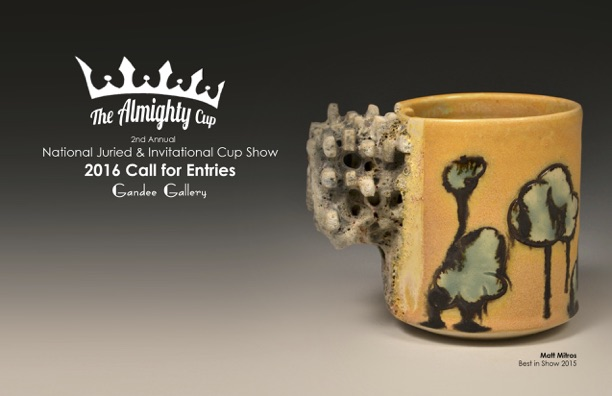 The Almighty Cup - National Juried and Invitational Cup show