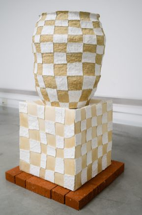 As part of a two person exhibition, Renovation Clay, with ceramic artist, Jackie Rines at the Frank M. Doyle Arts Pavilion in Costa Mesa, CA.